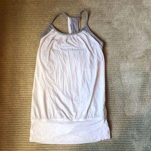 Lululemon workout bra and top